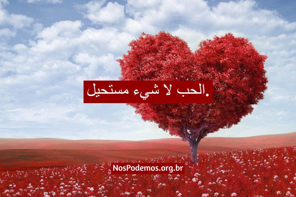 الحب لا شيء مستحيل.